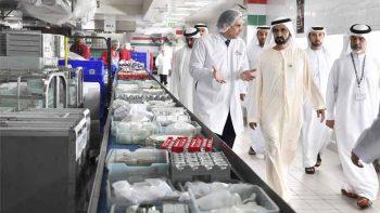 Shaikh Mohammad cites cooperation between Emirates, sectors