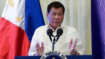 Duterte urges public to donate to gov't instead of TV stations