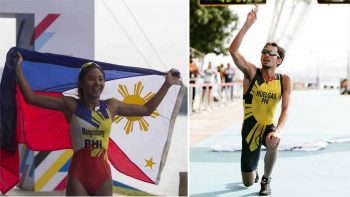 Filipino triathletes win gold, silver at SEA Games