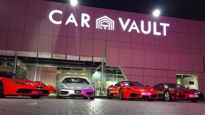 Car Vault In Dubai And Its Impressive 80 Car Collection Expat Media