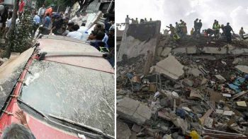 Dozens killed, buildings collapse after powerful quake in Mexico