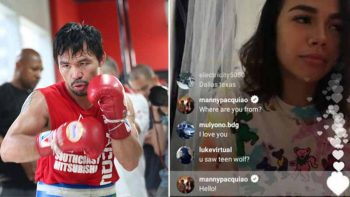 Pacquiao mocked over IG account's comments in girl's livestream