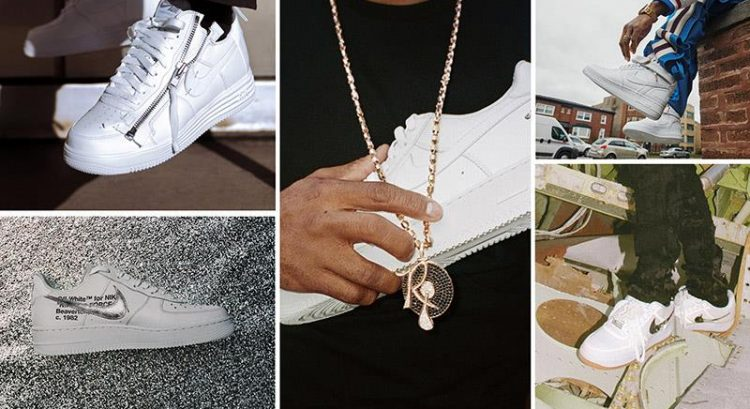 White Air Force 1s gets 5 makeovers on 35th year