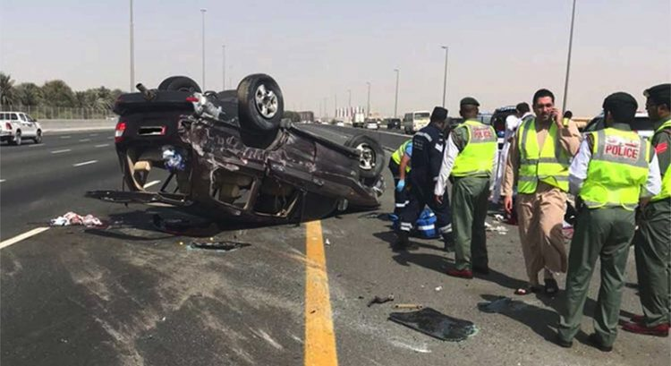 You are 4 times more likely to crash if you do this in UAE