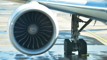 Woman arrested for tossing coins at plane engine