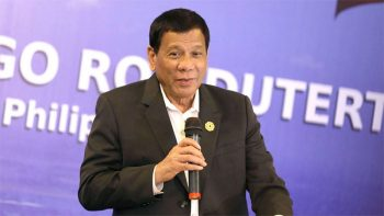 Duterte, Trump meet for first time at Apec summit