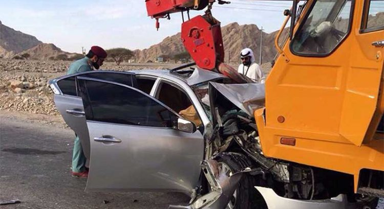 2 injured in Ras Al Khaimah car crash