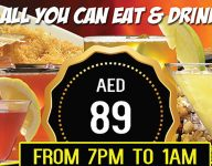 Party, eat and drink all you can in Dubai for Dh89