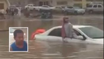 Filipino expat hailed a hero for saving man trapped in Jeddah flood