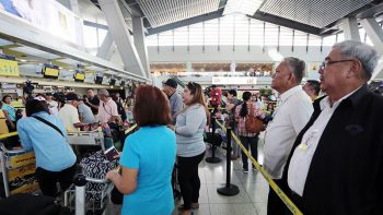 Come early to NAIA, travellers told