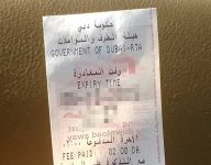 Indian to be deported for fake parking ticket in Karama