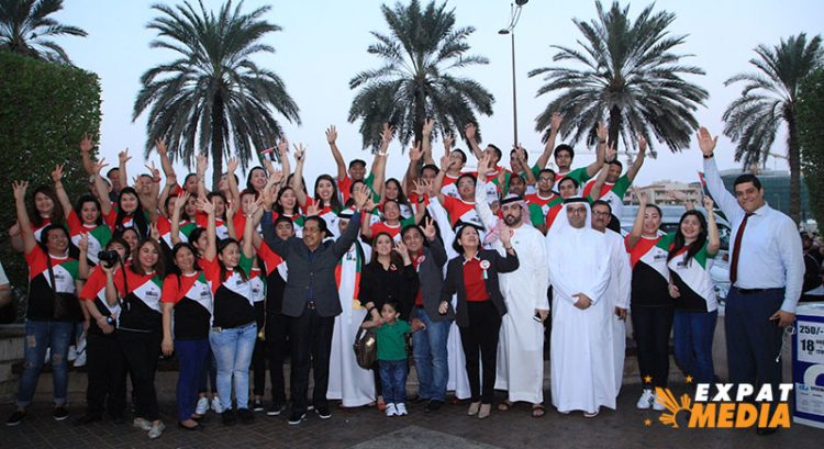 In pictures: Deira group celebrates UAE National Day with sidewalk party