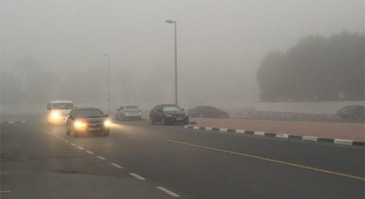 Speed limit reduced on UAE highways amid fog
