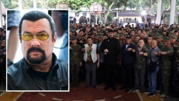 What Steven Seagal has to say to Philippine troops