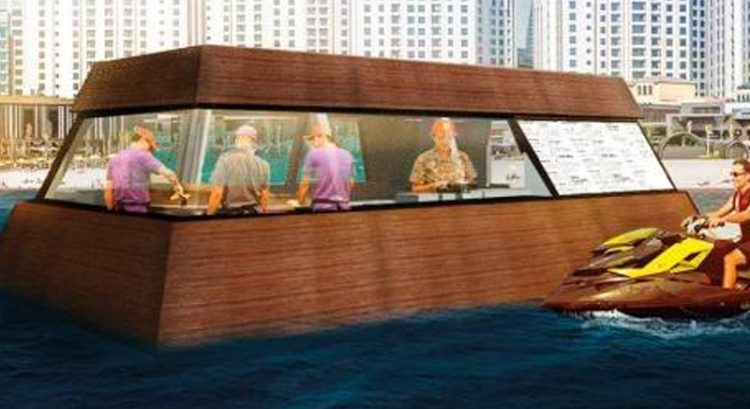 World's first floating food truck coming to Dubai