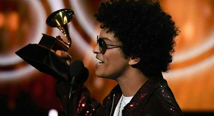 Bruno Mars sweeps the Grammys
