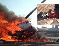 Emirati killed in fiery car crash in Ras Al Khaimah