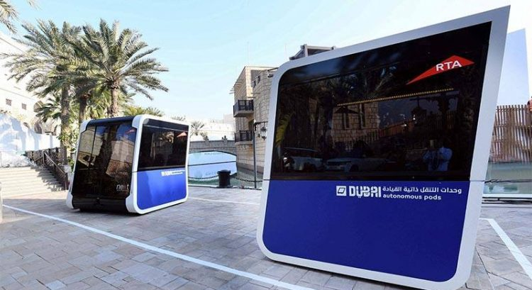 World's first 'Autonomous Pods' spotted in Dubai