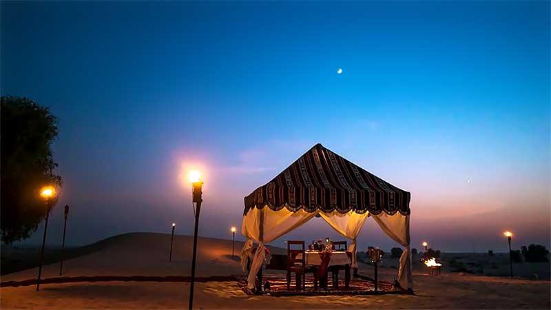 Bab Al Shams Desert Resort and Spa ten desert