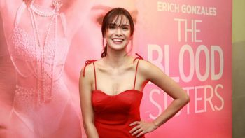 Erich Gonzales topbills 'The Blood Sisters'