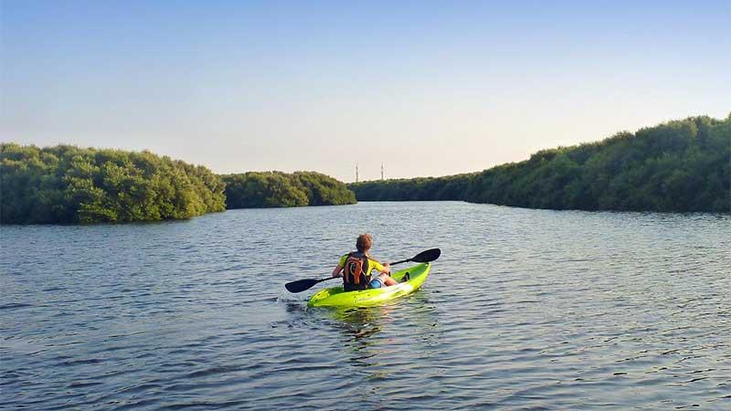 Al Zora opens Marina 1 kayaking