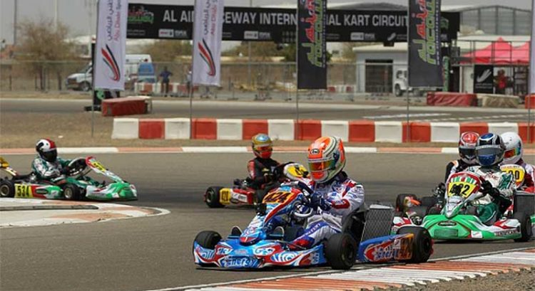 UAE's youngest karting drivers race for qualifiers
