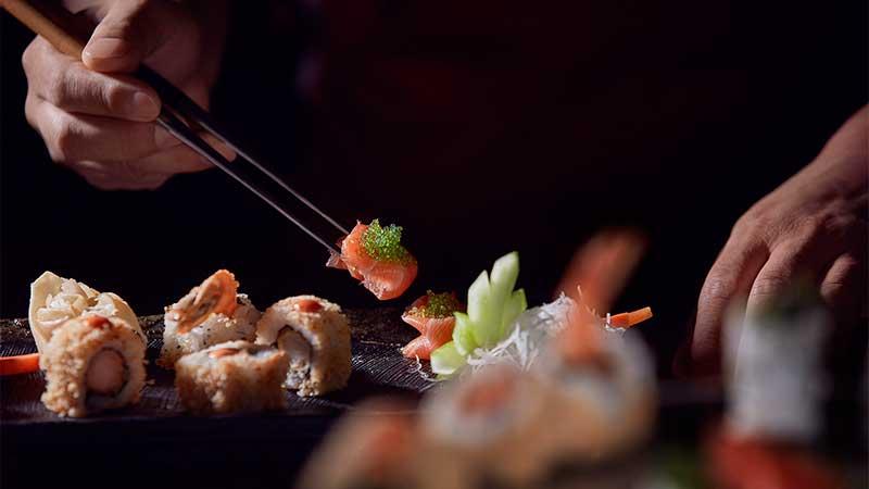 Shiba restaurant sushi Meydan hotel
