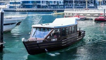 Super abras take over water buses in Dubai Marina