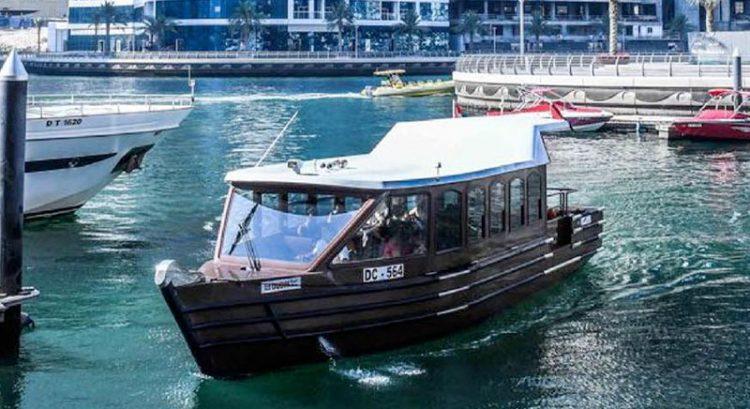 Super abras take over water buses in Dubai Marina