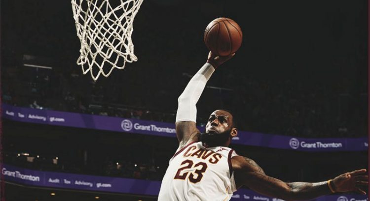 LeBron James breaks Michael Jordan's record