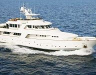 Buy this superyacht in bitcoin at Dubai Boat Show