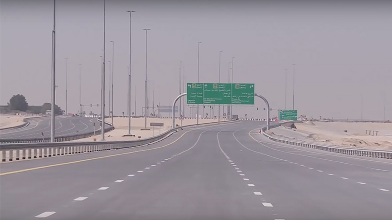 Look New Dh474 Million Road Opens In Dubai