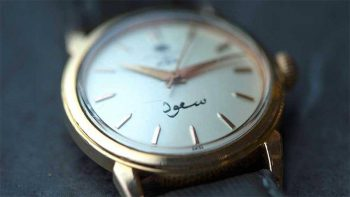 Dubai collector finds Sheikh Zayed's watch