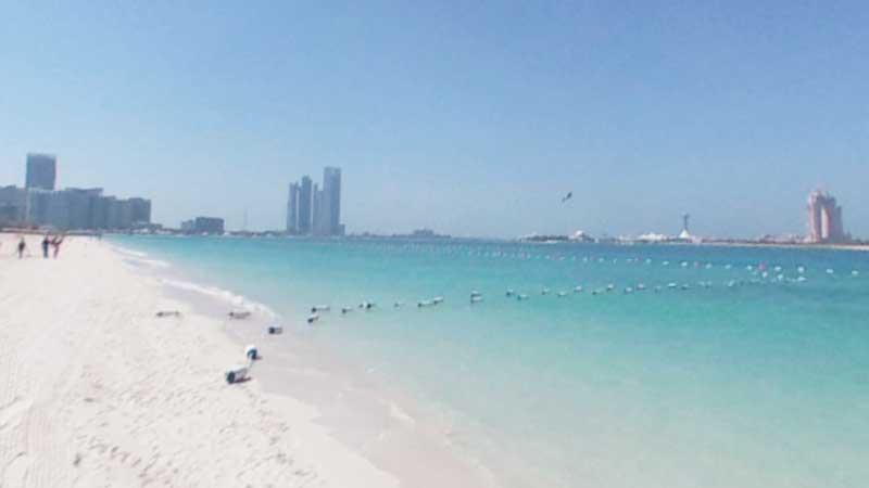 The Beach In Abu Dhabi