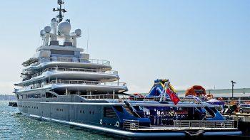 Dh1.8 billion superyacht impounded over divorce battle to leave Dubai