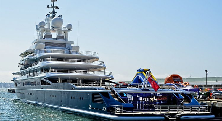 Court rules on billionaire's $540m superyacht impounded in Dubai