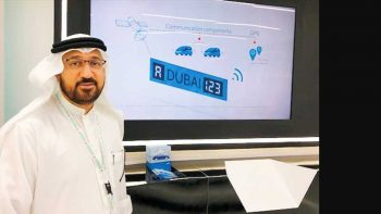Smart Dubai car number plates to send police alert in case of emergency