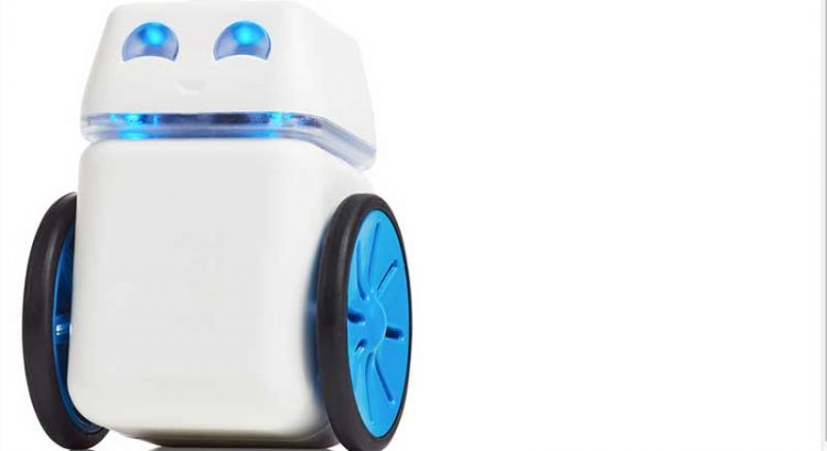 Robot the size of cola can to teach you coding in UAE