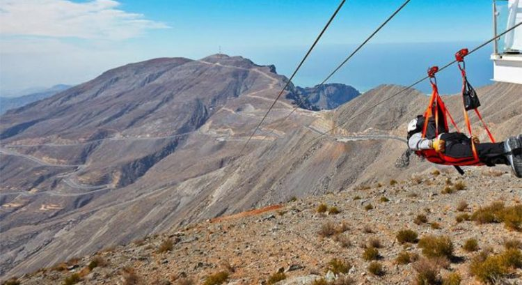 Ras Al Khaimah to build more ziplines, luxury camps