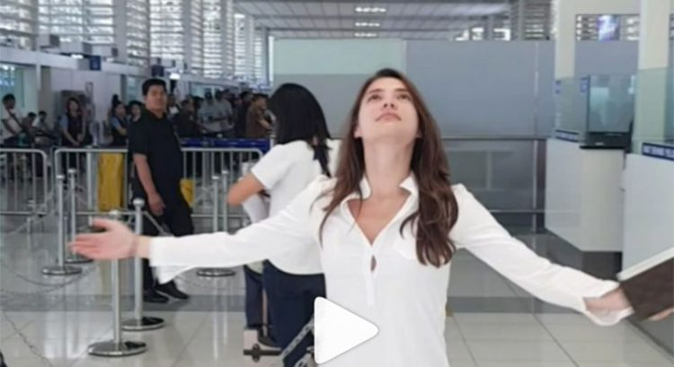 WATCH: No queue at Philippine airport? It's a miracle, says Rhian Ramos