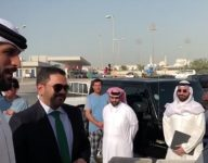 Watch: Bahrain prince's surprise offer to fish vendor