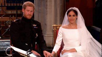 Live: Prince Harry and Meghan Markle wed