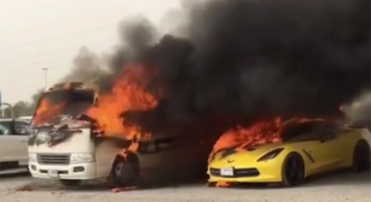 Arson at Dubai Outlet Mall parking lot: man on trial
