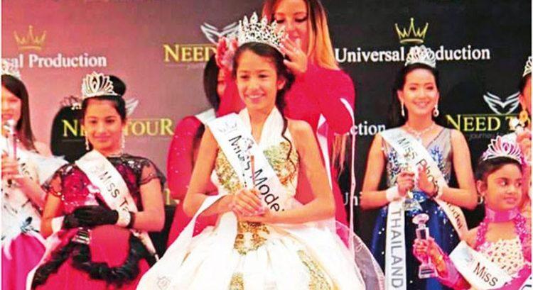 Dubai girl crowned Little Miss Universe