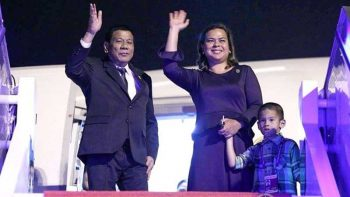 After kiss controversy, daughter vows to accompany Duterte on official visits