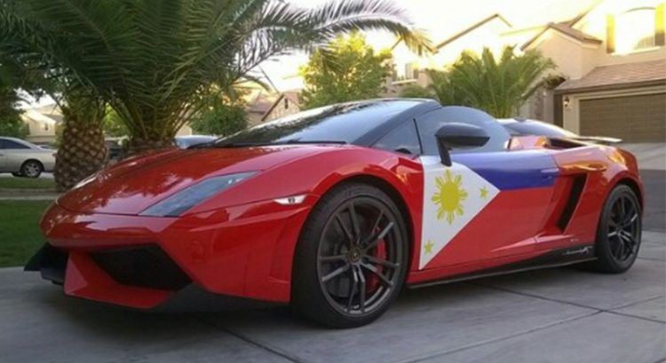 Filipino motorcade in Dubai for Philippine Independence Day