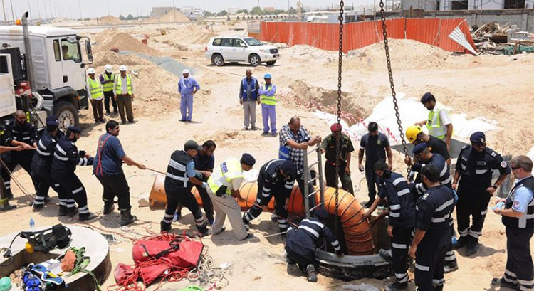 Worker rescued from sewage pit in Abu Dhabi