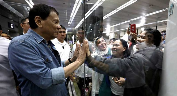 OFW Department to launch in 2019, says Duterte