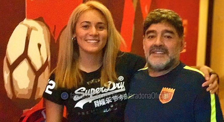 Diego Maradona proposes to woman he once accused of stealing from his Dubai villa