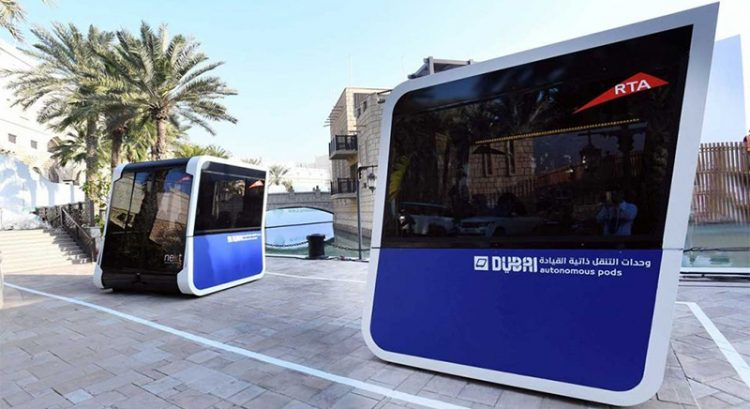 $5 million self-driving challenge in Dubai